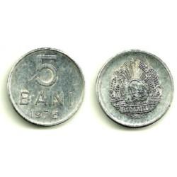 (92a) Rumania. 1975. 5 Bani (MBC-)