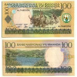(29b) Ruanda. 2003. 100 Francs (SC)