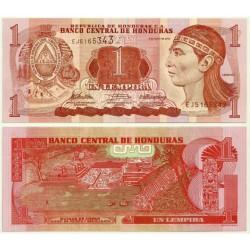 (89b) Honduras. 2010. 1 Lempira (SC)