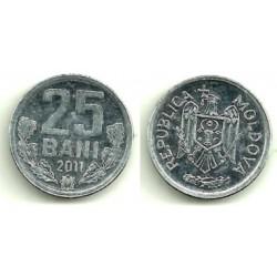 (3) Moldavia. 2011. 25 Bani (SC)