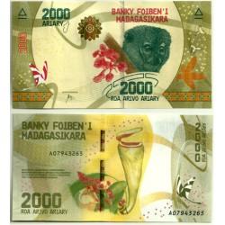 Madagascar. 2017. 2000 Ariary (SC)
