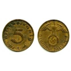 (91) Alemania (III Reich). 1938(E). 5 Pfennig (MBC+)