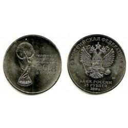 Rusia. 2018. 25 Roubles (SC)