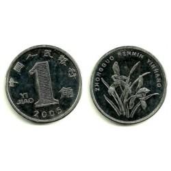 (1210b) China. 2005. 1 Jiao (EBC+)