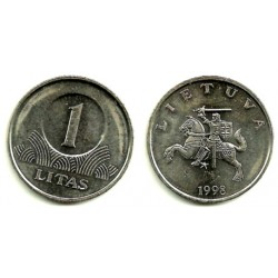 (111) Lituania. 1998. 1 Litas (EBC+)