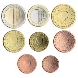Países Bajos 2001 Serie Completa (8 Valores) (SC)