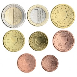 Países Bajos 2008 Serie Completa (8 Valores) (SC)