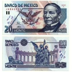 (106a) Estados Unidos Mexicanos. 1994. 20 Pesos (EBC+)