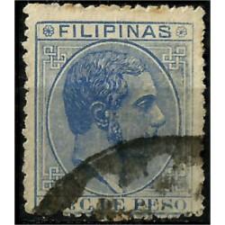 Filipinas Colonial. 1880-88. 2 4/8 Céntimos de Peso. Alfonso XII (Usado)