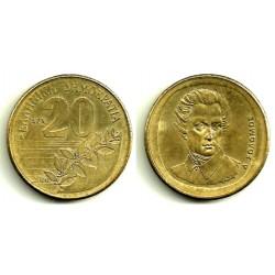(154) Grecia. 2000. 20 Drachma (EBC)