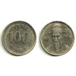 (35.2) Corea del Sud. 1992. 100 Won (MBC)