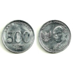 Indonesia. 2016. 500 Rupiah (SC)