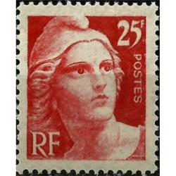 (552) Francia. 1945-46. 25 Francs. Marianne (Nuevo)