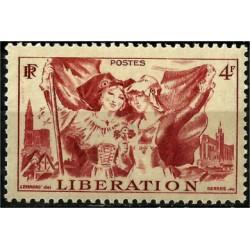 (559) Francia. 1945. 4 Francs. Liberation (Nuevo)