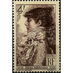 (B191) Francia. 1945. 4 + 1 Franc. Saraii Bernhardt (Nuevo)