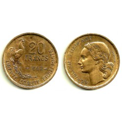 (917.1) Francia. 1952. 20 Francs (EBC)