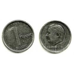 (188) Bélgica. 1995. 1 Franc (MBC+)