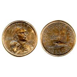 Estados Unidos de América. 2001(P). 1 Dollar (MBC+)