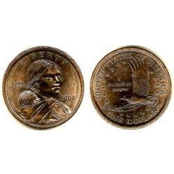 Estados Unidos de América. 2000(P). 1 Dollar (MBC+)