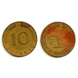 (108) Alemania. 1969(J). 10 Pfennig (BC)