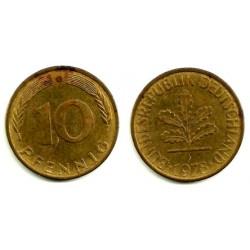 (108) Alemania. 1978(G). 10 Pfennig (BC)