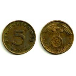(91) Alemania (III Reich). 1939(A). 5 Pfennig (MBC)
