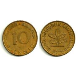 (108) Alemania. 1971(J). 10 Pfennig (MBC)
