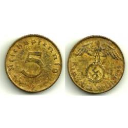 (91) Alemania (III Reich). 1938(A). 5 Pfennig (BC+)
