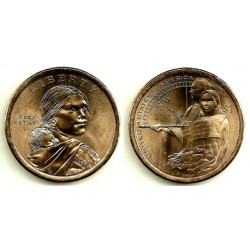 Estados Unidos de América. 2014(P). 1 Dollar (SC)