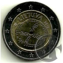 Lituania 2016 2 Euro (SC)