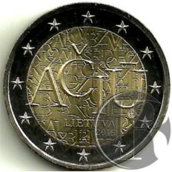 Lituania 2015 2 Euro (SC)