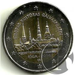 Letonia 2014 2 Euro (SC)