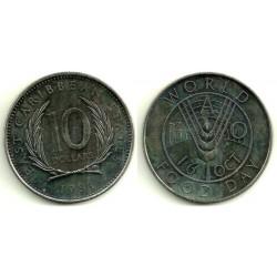 (16) Estados Orientales Caribeños. 1981. 10 Dollars (SC)