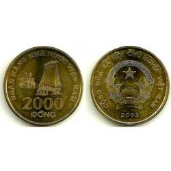(75) Viet Nam. 2003. 2000 Dong (SC)
