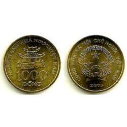 (72) Viet Nam. 2003. 1000 Dong (SC)