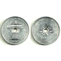 (6) Laos. 1952. 50 Cents (SC)