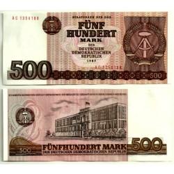 (33) Alemania Democrática. 1985. 500 Mark (SC)