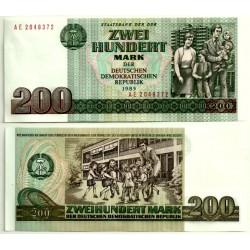 (32) Alemania Democrática. 1985. 200 Mark (SC)