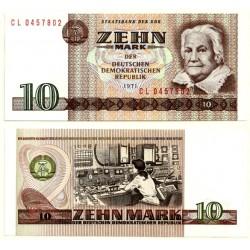 (28b) Alemania Democrática. 1971. 10 Mark (SC)