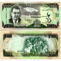 (90) Jamaica. 2012. 100 Dollars (SC)