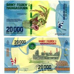 Madagascar. 2017. 20000 Ariary (SC)