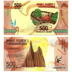 Madagascar. 2017. 500 Ariary (SC)