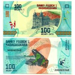 Madagascar. 2017. 100 Ariary (SC)