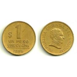 (103.2) Uruguay. 1998. 1 Peso (MBC-)