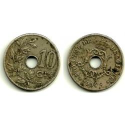 (52) Bélgica. 1904. 10 Centimes (MBC-)