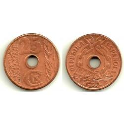 1938 25 Céntimos (SC)