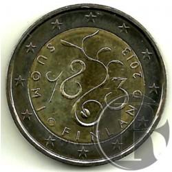Finlandia 2013 2 Euro (SC)