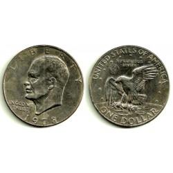 (1203) Estados Unidos de América. 1978(D). 1 Dollar (MBC)