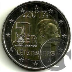 Luxemburgo 2017 2 Euro (SC)