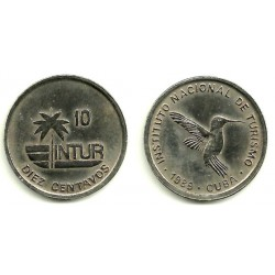(415.2) Cuba. 1989. 10 Centavos (EBC)